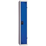 Vestiaire Industrie Propre à monter 1 colonne   Elément suivant 30 (L) x 50 (l) x 180 (H) cm Bleu