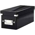 Boîte de rangement Leitz Click & Store 13,6 (H) x 14,3 (l) x 35,2 (P) cm Polypropylène Noir