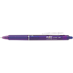 Roller   Pilot   Frixion clicker   Pointe moyenne   0,7 mm   Violet