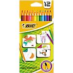 12 crayons de couleur   Bic   Evolution