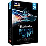 Logiciel antivirus Bitdefender Internet Security 2017   2 ans