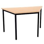 Table trapézoïdale  Niceday   140 x 70 cm   hêtre et noir