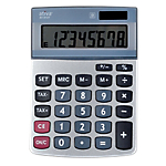 Calculatrice de bureau 8 chiffres   Office Depot   AT812ET
