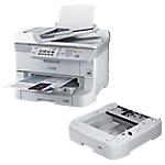 Pack Imprimante Multifonction 4 en 1 + Bac supplémentaire 500 feuilles Jet d'encre WF 8510DWF