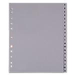 Intercalaires alphabétiques gris   Office DEPOT   Maxi A4 +