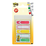 Index   marques pages Post it Flèche 4,32 (H) x 1,19 (l) cm Assortiment   100 index
