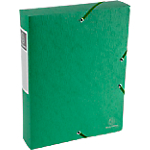Boîte de classement   Exacompta   Scotten Nature Future   240 x 320 mm   dos 60 mm   vert
