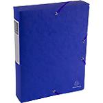 Boîte de classement   Exacompta   Scotten Nature Future   240 x 320 mm   dos 60 mm   bleu