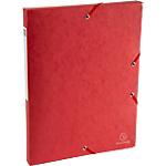 Boîte de classement Scotten rouge   Exacompta   Dos de 2,5 cm