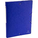 Boîte de classement Scotten bleue   Exacompta   Dos de 2,5 cm