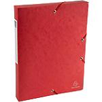 Boîte de classement Scotten rouge   Exacompta   Dos de 4 cm