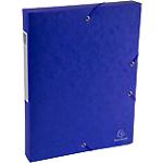 Boîte de classement Scotten bleue   Exacompta   Dos de 4 cm