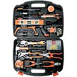 Caisse à outils ELAMI 900238 Noir, orange