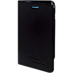 Étui de protection folio OMENEX Samsung Galaxy S6 Edge Noir