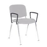A Chaise visiteur ISO Noir   2