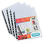 Paquet de 20 de pochettes perforées A4 polypropylène   Elba   9 trous
