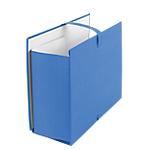 Chemises extensibles avec rabat Office Depot Carton fort habillage papier toilé Bleu