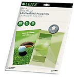 Paquet de 25 pochettes plastifiées A4   Leitz   80 microns
