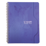 Cahier double spirale Calligraphe A5+ reliure intégrale