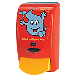 Distributeur de savon Deb Mr. Soapy 1 litre Rouge