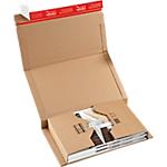 Étuis livres Carton ColomPac 10 (H) x 26,5 (l) x 38 (P) cm Marron   20