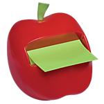 Dévidoir Z Notes 76 x 76 mm   Post it®   forme pomme + recharge