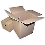 Caisses de déménagemen  565 (H) x 450 (l) x 450 (P) mm Marron   10