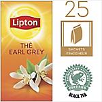 Sachets de thé Lipton Earl Grey Thé noir   25