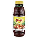 12 bouteilles de jus de fruits   Pago   Fraise   33 cl
