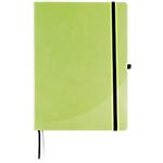 Cahier broché FORAY A6 192 Pages Simili cuir rigide Vert