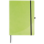 Cahier broché FORAY A5 192 Pages Simili cuir rigide Vert