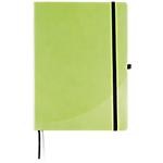 Cahier broché Foray A4 192 Pages Simili cuir rigide Vert