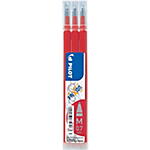 3 recharges   Pilot   Frixion Ball   Pointe moyenne 0,7 mm   Rouge