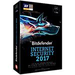 Logiciel antivirus Bitdefender Internet Security 2017   1 ans