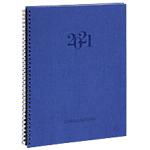 Semainier Exacompta Consultation 29,7 (H) x 21 (l) cm 1 Semaine sur 2 pages Bleu