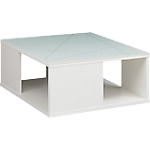 Table basse   Gautier Office   Gamme Sunday   blanc