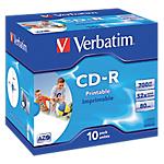 10 CD R   Verbatim   700 Mo