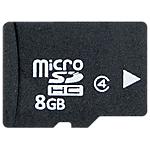 Carte Mémoire Micro SDHC   Ativa   8 Go
