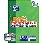300 Copies doubles   Oxford   Move Pack   A4   Petits carreaux