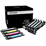 Kit d'imagerie D'origine Lexmark 70C0Z50 Noir et 3 Couleurs