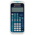Calculatrice scientifique Texas Instruments TI Collège PLUS Chiffres  Noir, Bleu, Blanc