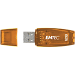 Clé USB EMTEC C410 128 Go USB 3.0 Orange