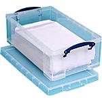 Boîte de rangement Really Useful Boxes 12C 15,5 (H) x 27 (l) cm Polypropylène Transparent   1