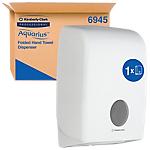 Distributeur d'essuie mains AQUARIUS 6945 39,9cm (H) x 26,5cm (l) Blanc