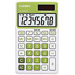 Calculatrice de poche Casio SL 300NC 8 Chiffres  Vert