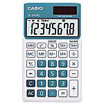 Calculatrice de poche Casio SL 300NC 8 Chiffres  Bleu