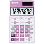 Calculatrice de poche Casio SL 300NC 8 Chiffres  Rose