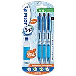 Blister de 3 stylos à bille   Pilot   B2P Ballgrip   Noir