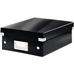 Boîtes de rangement Leitz Click&Store 10 (H) x 22 (l) x 28,5 (P) cm Polypropylène Noir