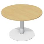Table ronde Optimal 72 (l) x 110 (H) cm Imitation Hêtre